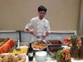 Chef Renzo con la sua specialit�