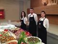 Servizio a buffet con Ilaria Stefano e Jessica
